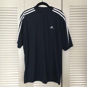 adidas Large Athletic Shirt Shirt Sleeve